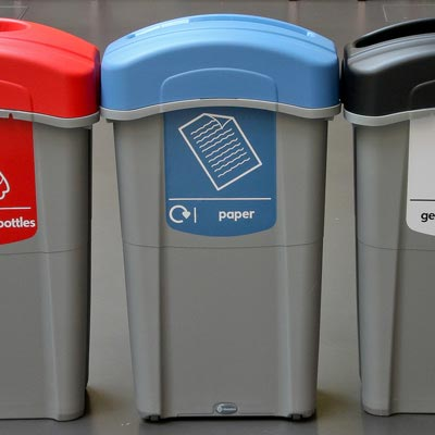 Office Recycling Bins