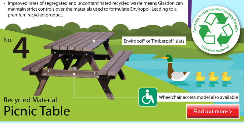 Top 5 Infographic Clifton™ Picnic Table