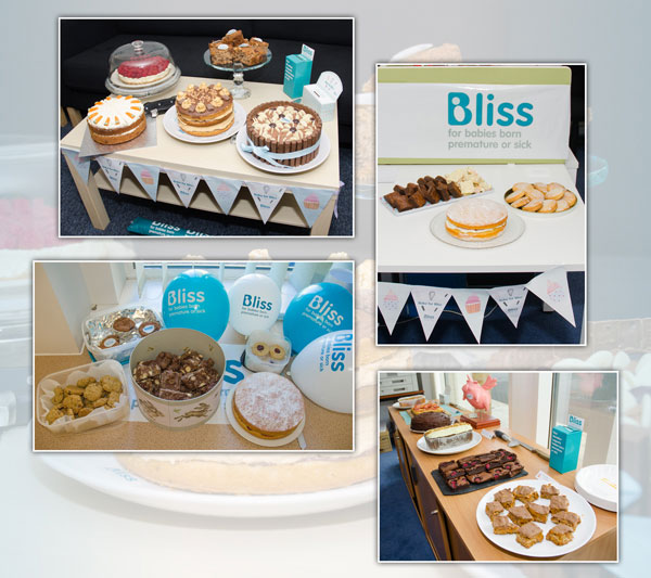 Bake for Bliss 2017 at Glasdon