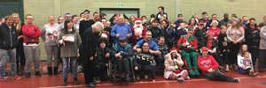 Beary Generous Donation for Multi-Disability Sports Club