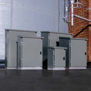 Citadel steel equipment enclosure cabinets