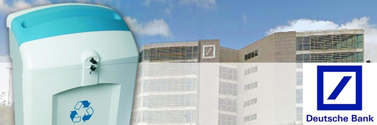 Working towards workplace sustainability at Deutsche Bank