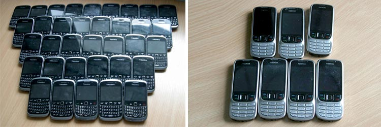 Oxfam Make Recycling Business Mobiles Easy