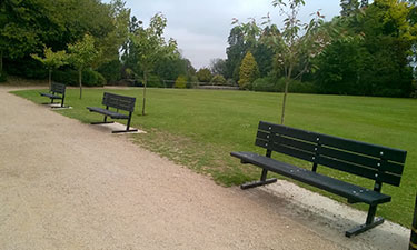 Countryside Seats at Craigtoun Country Park
