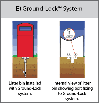 Ground-Lock™ Fixing System