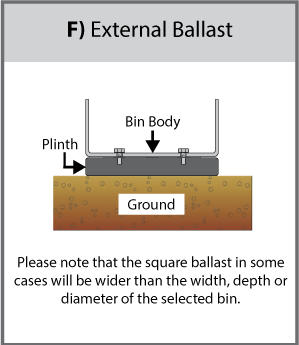 External Ballast (F) Diagram