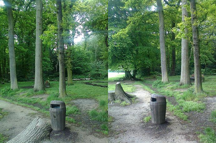 Sherwood™ Litter Bins in Highgate Wood