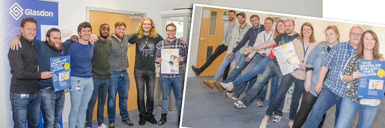 glasdon staff jeans for genes day