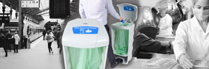 Glasdon Launch PPE Waste Disposal Bins