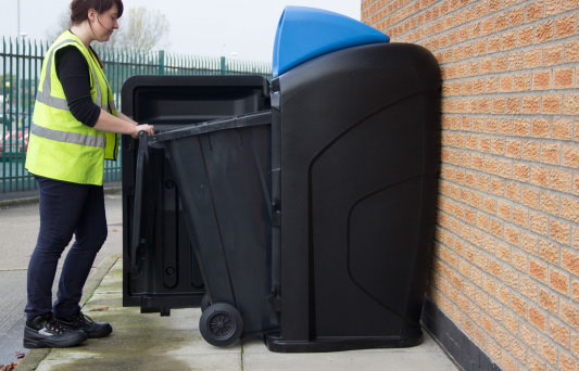 What is this? 240L Wheelie Bin