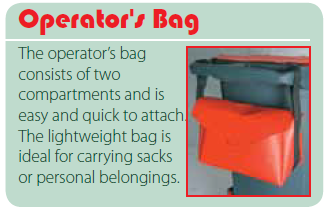 What is this? Operator's bag