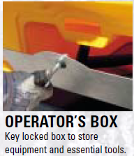 What is this? Operator's box