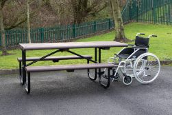 Bowland Picnic Table with Wheelchair Access