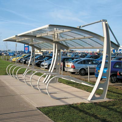 Bi-Port Cycle Shelter - 2