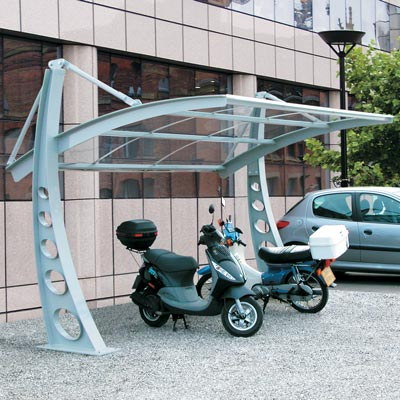 Bi-Port™ Cycle Shelter