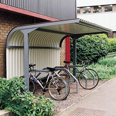 Bi-Rak™ Cycle Shelter