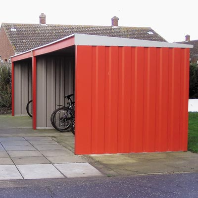 Bi-Shelter Cycle Shelter - 2