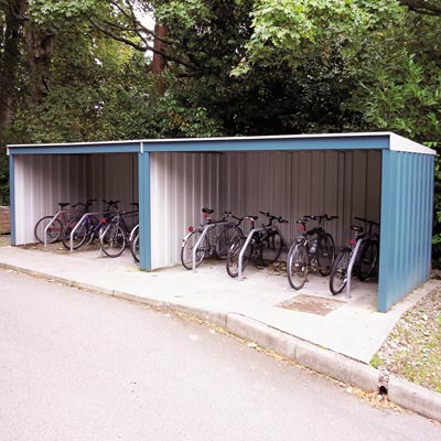 Bi-Shelter Cycle Shelter - 3