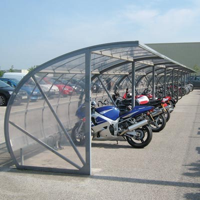 Bi-Store Cycle Shelter - 2