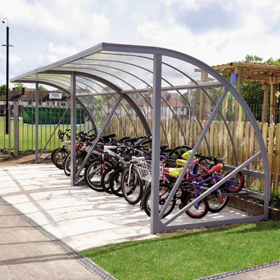 Bi-Store™ Cycle Shelter