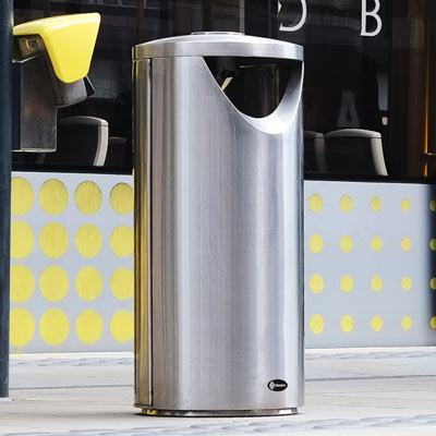 Centrum Stainless Steel Litter Bin