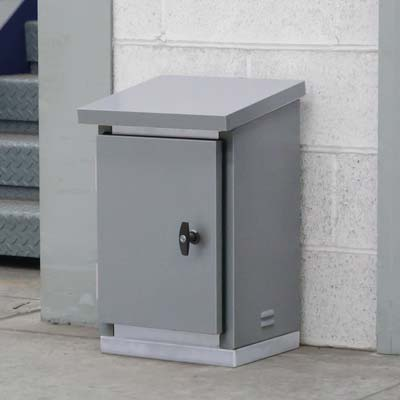 Steel equipment cabinets outdoor electrical metering - Outdoor electrical enclosures cabinets ...
