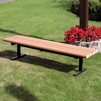 Countryside bench with Timberpol slats