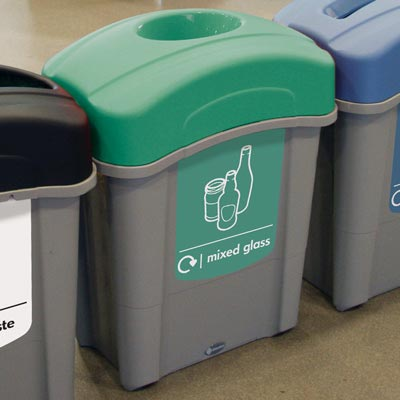 Eco Nexus® 60 Mixed Glass Recycling Bin