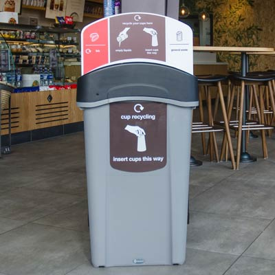 Eco Nexus® Cup Recycling Station