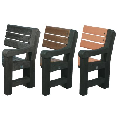 Elwood seat colour options - Black oak ends