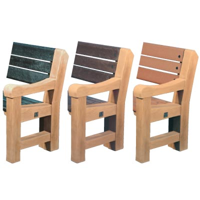 Elwood seat colour options - Light oak ends