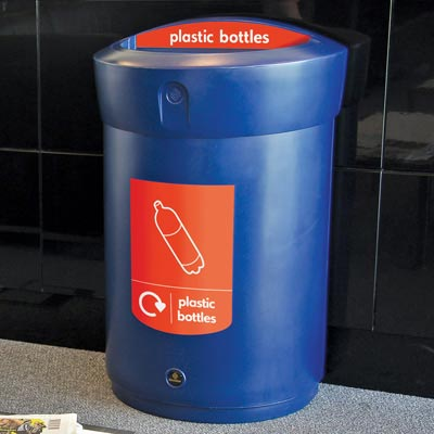 Envoy™ Plastic Bottle Recycling Bin - 110ltr