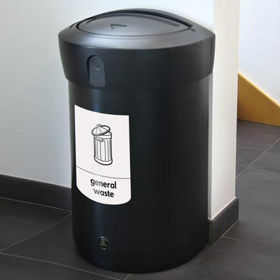 Envoy™ General Waste Swing Top Bin - 110ltr