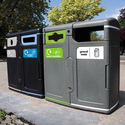 Gemini™ Recycling Bins
