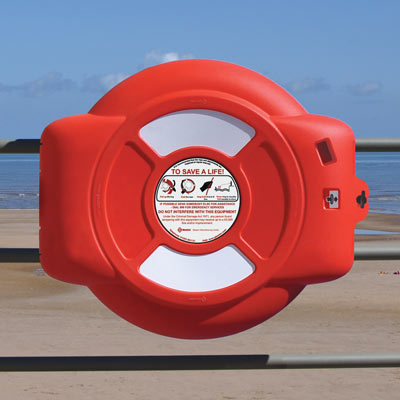 Guardian Lifebuoy Housing - Rail Mounted