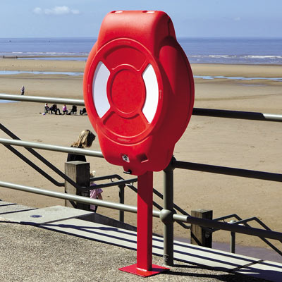 Guardian Lifebuoy Housing - Post Mounted
