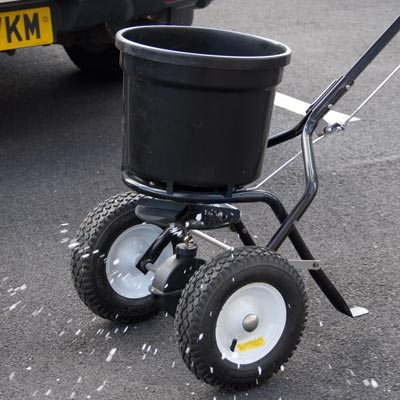 Icemaster 25 Walk-behind Grit Salt Broadcast Spreader