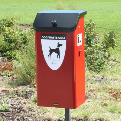 Metal Fido 50™ Dog Waste Bin