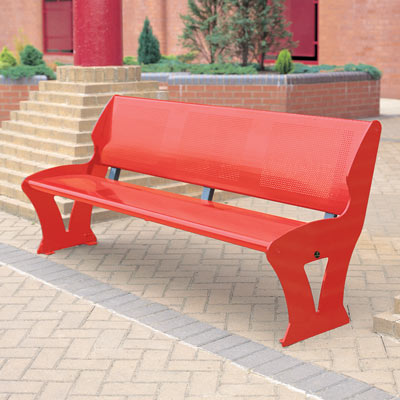 Metro seat in red