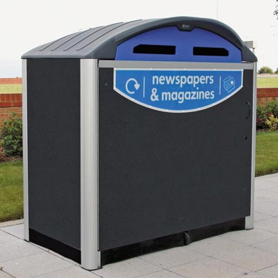 Modus™ 770 Newspaper & Magazine Recycling Housing