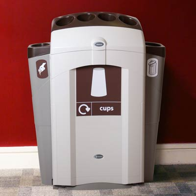 Nexus® 100 Cup Recycling Station