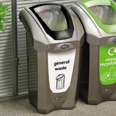 Nexus® 30 Deluxe General Waste Bin