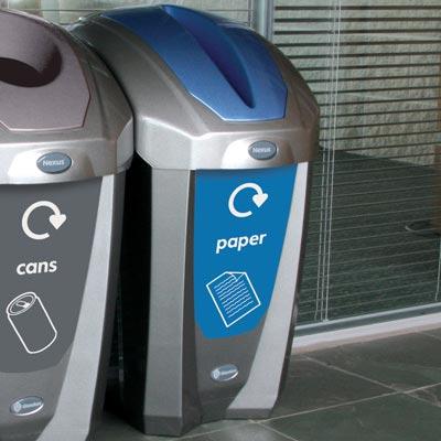 Wonderful Nexus® 30 Deluxe Paper Recycling Bin