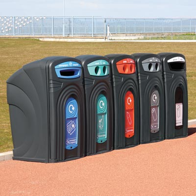 Nexus 360 Outdoor Recycling Station