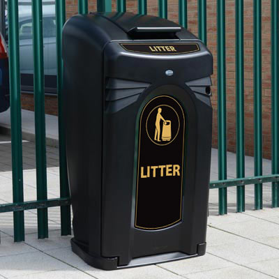 Nexus® City 140 Litter Bin