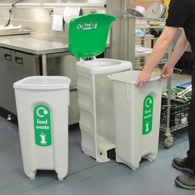 Commercial Kitchen Food Waste Bins