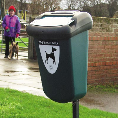 Retriever 35™ Dog Waste Bin