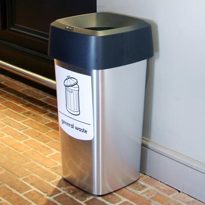 Vista™ Square General Waste Bin