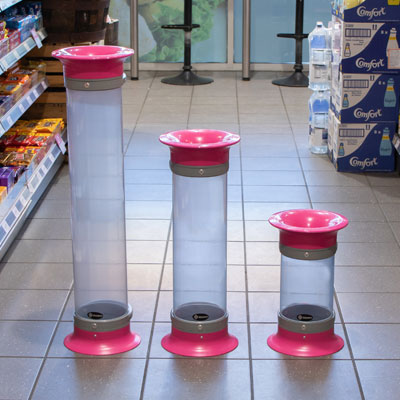 C-Thru™ Battery Bins