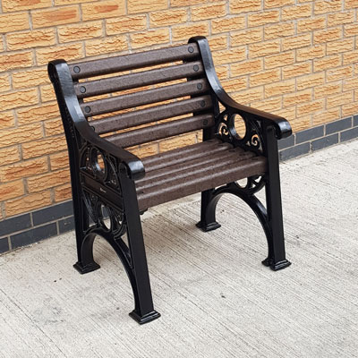 Lowther™ Single Seat Made from Recycled Material
